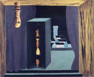 """Рене Магритт. Картина """"Публичный человек"""""""