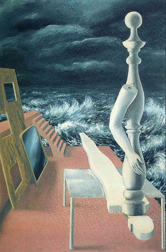Рождение кумира The birth of idol, 1926 - Рене Магритт - описание и анализ картины методом прикладного психоанализа