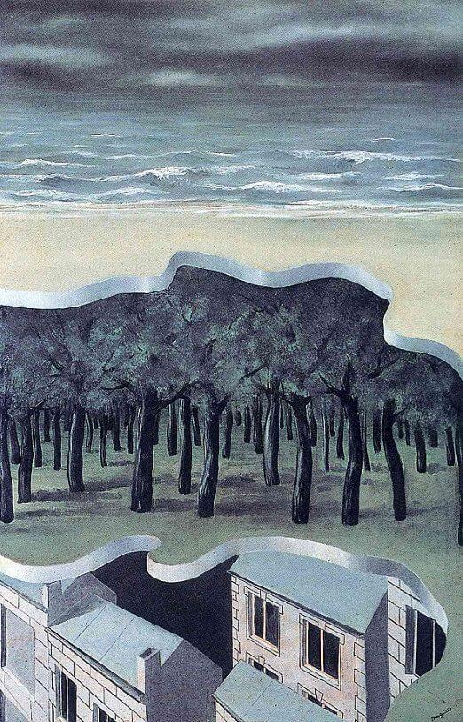 "Анализ картины Рене Магритта ""Популярная панорама (Popular Panorama, 1926)"