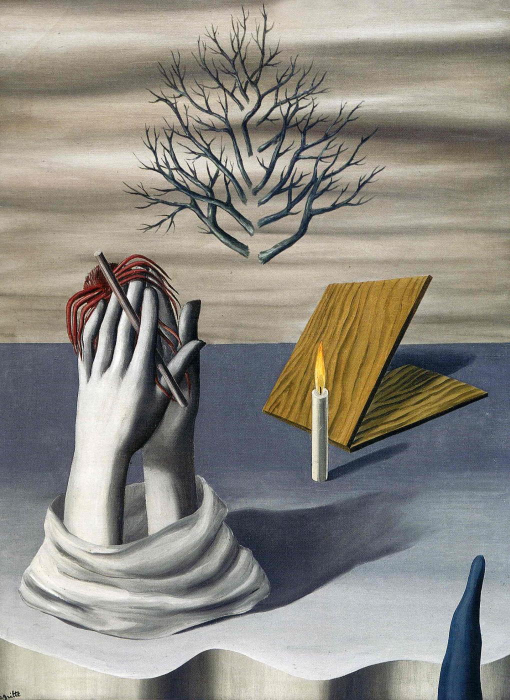 """Рене Магритт """"Рассвет в Кайенне"""" (L'aube a Cayenne, 1926) - анализ картины"""