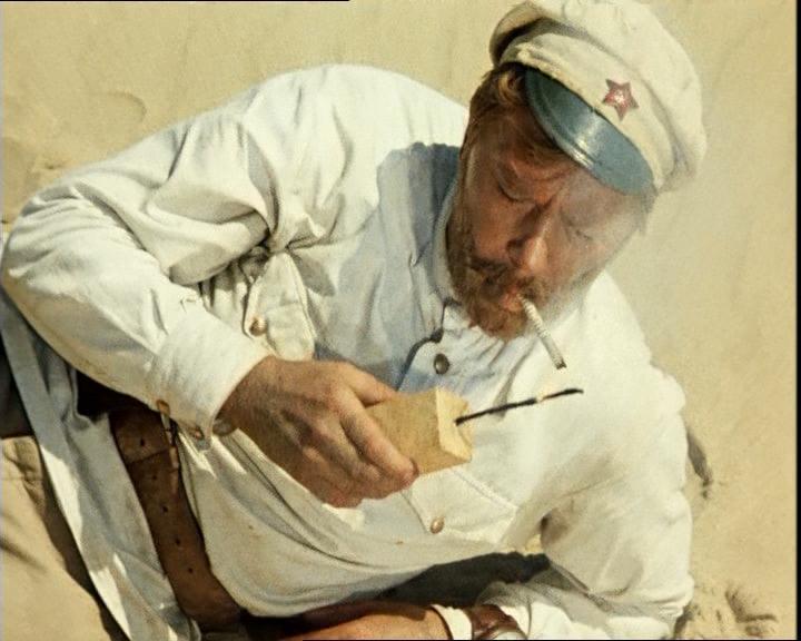 """Сухов из """"Белого солнца пустыни"""" писал письма к своей любимой жене Екатерине Матвеевне"""
