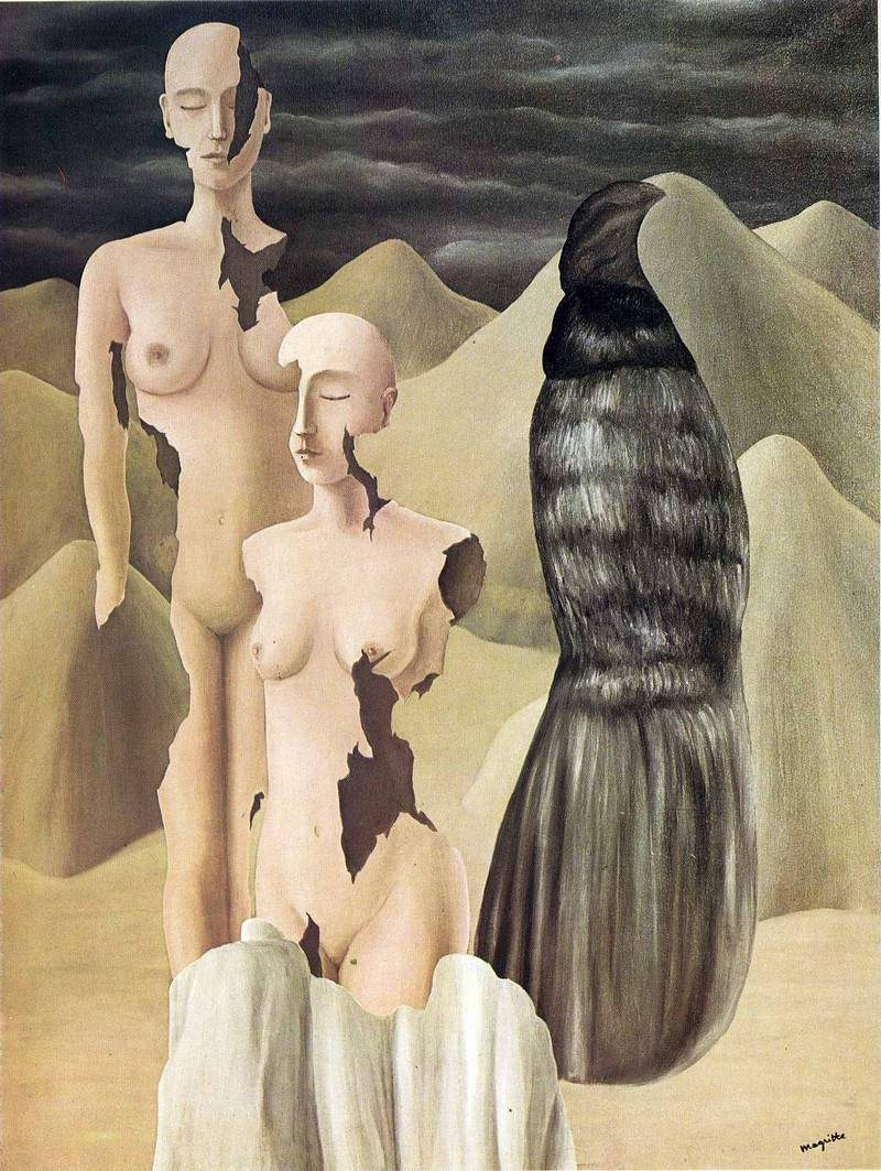 """Рене Магритт """"Северное сияние"""" (Polar light, 1926)"""